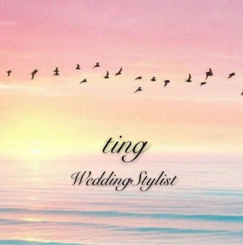 提供訂婚禮服服務的專家新秘婷  婚禮造型ting.WeddingStylist
