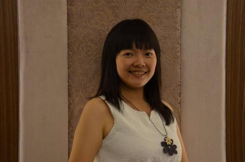 提供當代中文課程服務的專家Andrea